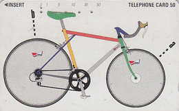 Télécarte Japon / 110-64895 - BIERE BUDWEISER / VELO - BEER & BIKE Japan Phonecard - BIER & FAHRRAD - 797 - Publicité