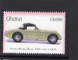 Austin Healey Sprite Mk I   (1958)  -  Ghana  1v Neuf/Mint - Voitures