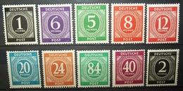 N°105A TIMBRES DEUTSCHE POST NEUFS - Allemagne