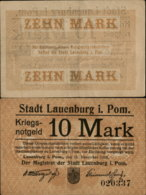 GERMANY-STADT LAUENBURG  MARK 1918 - [ 2] 1871-1918 : Duitse Rijk