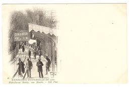 PARIS (75) - Exposition Universelle 1900 - 56 - Plate-Forme Mobile, Une Montée - Ed. ND. Phot. - Exhibitions