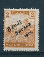 Hongarije/Hungary/Hongrie/Ungarn Bánát, Bácska 1919 Mi: 6 Yt: 5 (PF/MNH/Neuf Sans Ch/nuovo Senza C./**)(4536) - Banat-Bacska