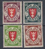 Dantzig N° 211A / 14  XX  Partie De  Série : Les 4 Valeurs Sans Charnière, TB - Autres - Europe