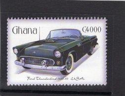 Ford Thunderbird   (1957)  -  Ghana  1v Neuf/Mint - Voitures