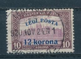 Hongarije/Hungary/Hongrie/Ungarn 1920 Mi: 319 Yt: TA 3 (Gebr/used/obl/usato/o)(4531) - Hongarije