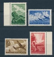 Hongarije/Hungary/Hongrie/Ungarn 1942 Mi: 687-690 Yt: TA 48-51 (PF/MNH/Neuf Sans Ch/**)(4538) - Hongarije