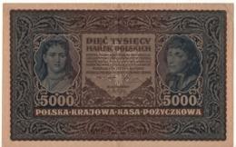 POLAND 5'000 Marek  P31  Dated 7.2.1920 - Pologne