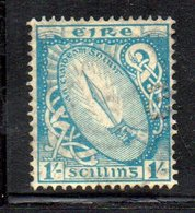 APR1634 - IRLANDA 1922 , Unificato N. 51  Usato  (2380A)  Fl 1 - 1922-37 Stato Libero D'Irlanda