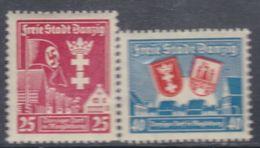 Dantzig N° 228 / 29  XX  Les 2 Valeurs Sans Charnière, TB - Autres - Europe
