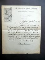 Lettera Carta Intestata Fortunello E Cirillino Proposta Teatro Storchi 1936 - Vecchi Documenti