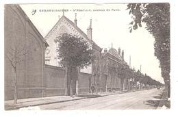Gennevilliers (92 - Hauts De Seine) Avenue De Paris  - L'Abattoir - Gennevilliers