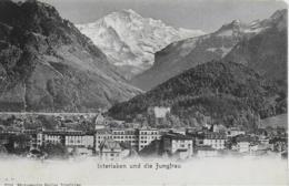 AK 0275  Interlaken Und Die Jungfrau - Verlag Gabler Um 1910 - BE Bern