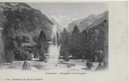 AK 0275  Interlaken - Kurgarten Und Jungfrau / Verlag Gabler Um 1910 - BE Bern