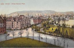 AK 0275  Zürich - Alfred Escher Platz Um 1910-20 - ZH Zürich