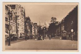 NO250 - PARIS EN FLANANT - Le Sacré Coeur De Montmartre Vu Du Boulevard Des Batignolles - Sacré Coeur