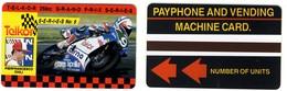 SOUTH AFRICA___Telkor TEST Magnetic Moto GP___SAF-TE-18 MINT___RARE - Afrique Du Sud