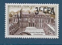 Timbre Neuf** Réunion, N°332 Yt, Palais De L'elysée - Ungebraucht