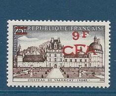 Timbre Neuf** Réunion, N°336 Yt, Chateau De Valençay - Ungebraucht