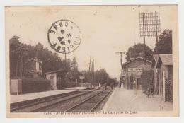 NO255 - MITRY LE NEUF - La Gare Prise Du Quai - France