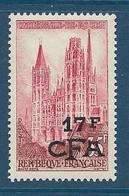 Timbre Neuf** Réunion, N°338 Yt, Cathédrale De Rouen - Ungebraucht