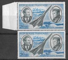 France 1970 - Poste Aérienne  20 F. Bleu Et Gris-bleu  Mermoz & Saint-Éxupéry  Y&T PA 44 ** Neufs Luxe (gomme Tropicale) - Curiosità: 1970-79  Nuovi