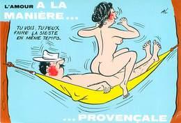 Illustrateur Alexandre   - Humour  A La Maniere Provençale    U 1073 - Humour