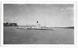 """PHOTO - """"LE LAUSANNE"""" Bateau De Promenade - Ft 11 X 7 Cm - Barcos"""