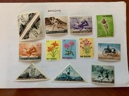 San Marino Mnh Stamps Lot N.21 - San Marino