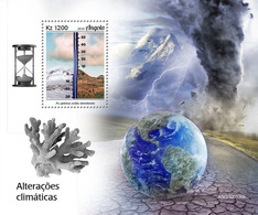 ANGOLA 2019 - Climate Change, Glaciers S/S. Official Issue - Preserve The Polar Regions And Glaciers