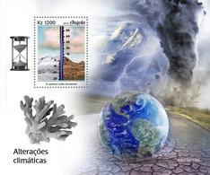 ANGOLA 2019 - Climate Change, Glaciers S/S. Official Issue - Preservare Le Regioni Polari E Ghiacciai
