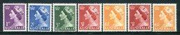 Australia 1953-57 QEII Definitives Set MNH (SG 261-263a) - Mint Stamps