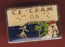 59411-Pin's.comité D Etablissement.CPAM.assurance Maladie. 06 - Administrations