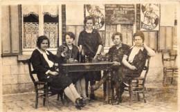 Belgique - Brakel - Zegelsem - Segesem - Carte-Photo - Femmes à L' Apéritif - Publicité Machine à Coudre Singer - Brakel
