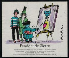 Etiquette De Vin // Fendant De Sierre, Bande Dessinée - Fumetti