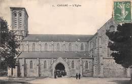 Callac       22        L'Eglise         (voir Scan) - Callac