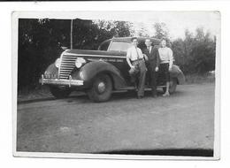 PHOTO -  Voiture Ancienne - Ft 8,5 X 6 Cm - Automobile
