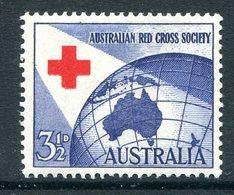 Australia 1954 40th Anniversary Of Australian Red Cross HM (SG 275) - 1952-65 Elizabeth II : Pre-Decimals