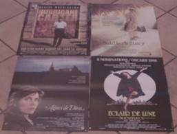 LOT 4 AFFICHES CINEMA FILMS De Norman JEWISON HURRICANE CARTER AGNES DE DIEU SOLDIER'S STORY ECLAIR DE LUNE - Posters