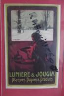 Cp Pub Lumiere & Jougla Plaques Papiers Produits - Advertising