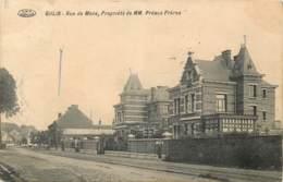 Belgique - Mons - Ghlin - Rue De Mons - Propriété De MM. Préaux Frères - Mons