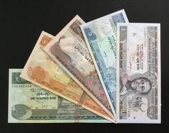 ETHIOPIA SET 1 5 10 50 100 BIRR BANKNOTES 2003-2012 UNC - Ethiopië