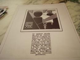 ANCIENNE PUBLICITE  LA GERBE D OR ET PIERRE CARREL 1925 - Unclassified
