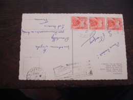 Lettre Taxee 3 Timbre Gerbes Gerbes 0 .10 F Timbre Taxe - Postage Due Covers