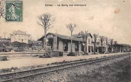 Callac         22         Vue Intérieure De La Gare       (voir Scan) - Callac