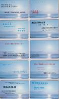 LOT De 10 Télécartes Japon / 110-129 - LEVER DE SOLEIL - SUNRISE Japan Phonecards -  MD 4325 - Japón