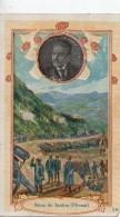 Chromo.Chocolaterie De L'Union LYON.carte 10,2  X 6,4 Cm. Siège De Janina Pitzani. - Otros