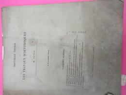 Notice/Botanique /Les Travaux Scientifiques / PAYER//Lavallée/1854    MDP125 - Libri, Riviste, Fumetti