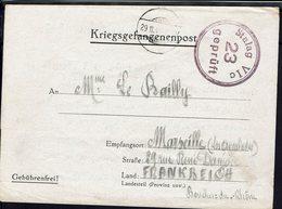 Fr - Kriegsgefangenenpost Stalag VI C à Bergen/Belsen - Correspondance Pour Marseille Du 22 Nov. 1940 - B/TB - Gepruft - - Postmark Collection (Covers)