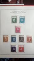 Francobolli Stamps Sovrano Militare Ordine Di Malta 1966-74 Album Fogli Marini - Francobolli