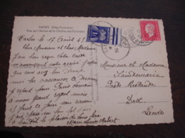 Lettre Taxee  Timbre Gerbe Gerbes  1 F - Postage Due Covers